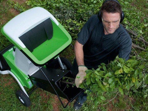 Фото садового измельчителя