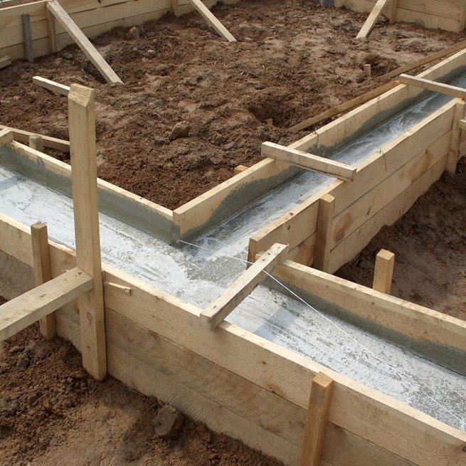 Как сделать фундамент под баню своими руками (фото и видео)