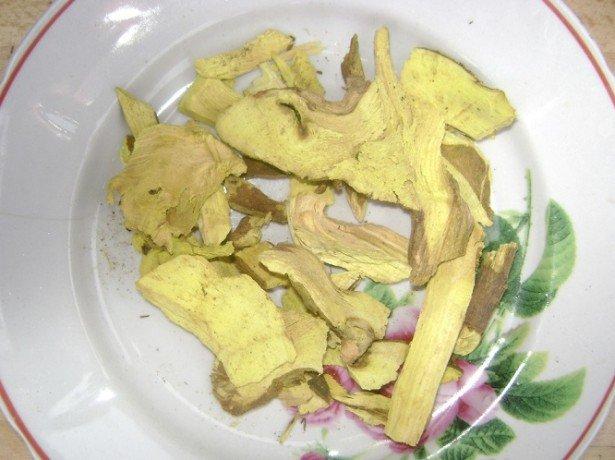 Корень и кора барбариса