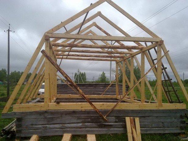Как построить мансарду –пошаговая инструкция фото