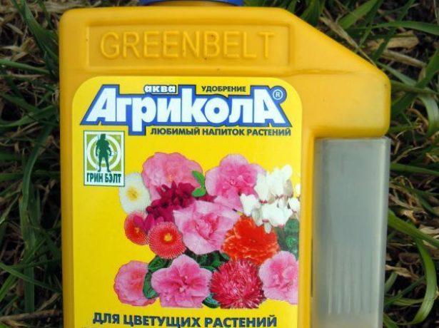 Удобрение для цветущих растений