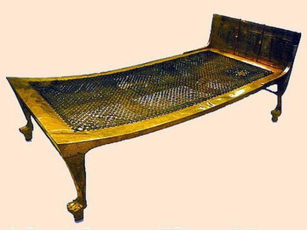 Плетёное спальное место