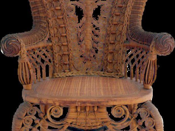 Плетёный стул