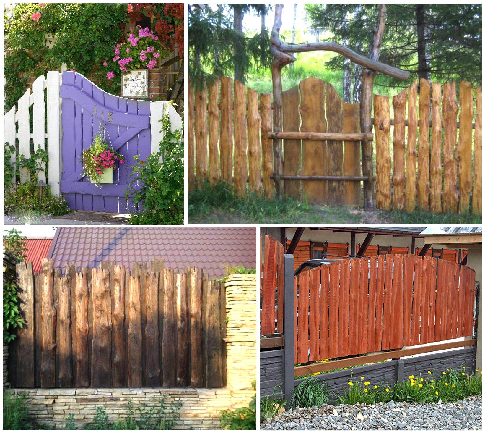 Изготовить забор своими руками