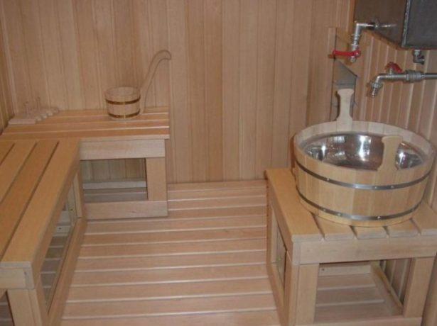 Моечная комната в бане