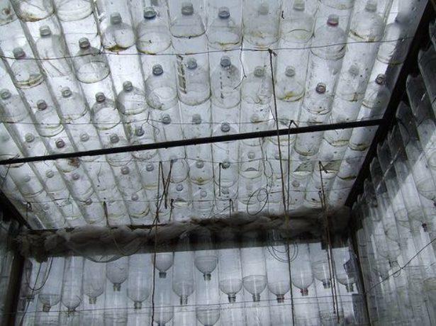 Устройство стен теплицы