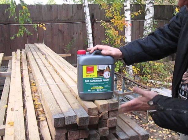 Антисептическое средство для дерева