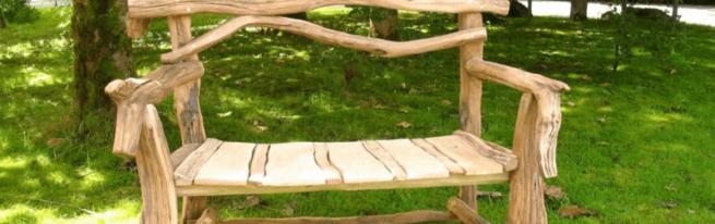 Как сделать дачную мебель из подручных материалов своими руками