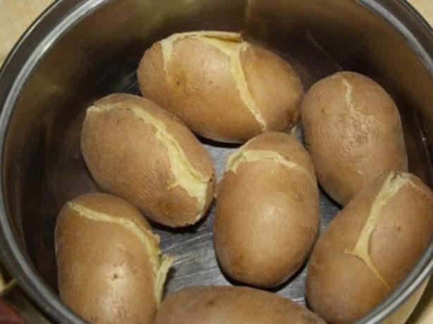 Картофель Киви в вареном виде
