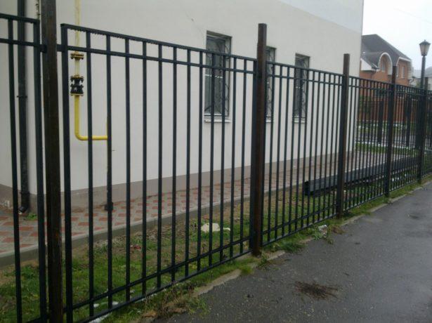 Металлический сварной забор