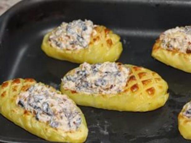 «Лапти» из картофеля
