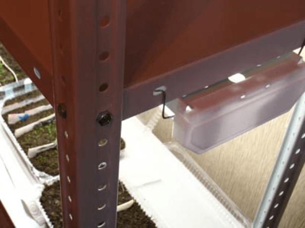 Разборный металлический стеллаж