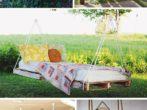 Садовая мебель из палет