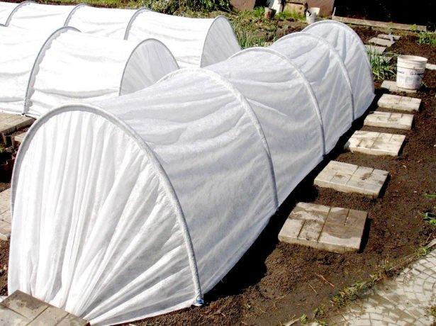 тоннель из агроволокна