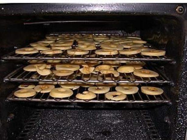 Сушка кабачков в духовке