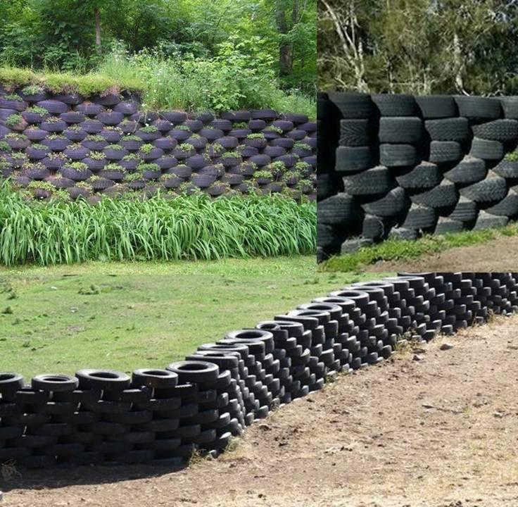 Забор из подручных материалов своими руками 88