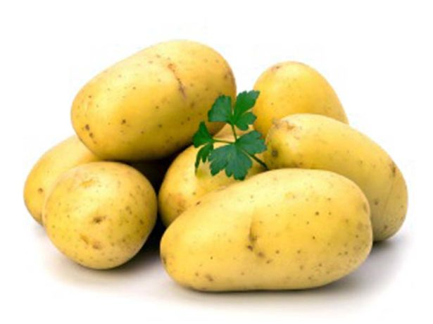 Клубни картофеля Колетте