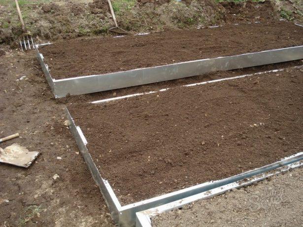 Подготовка грядки под картофель