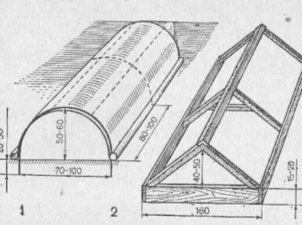 Схема сооружения тоннельного укрытия