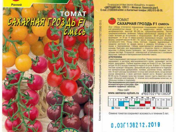 Томат Сахарная гроздь