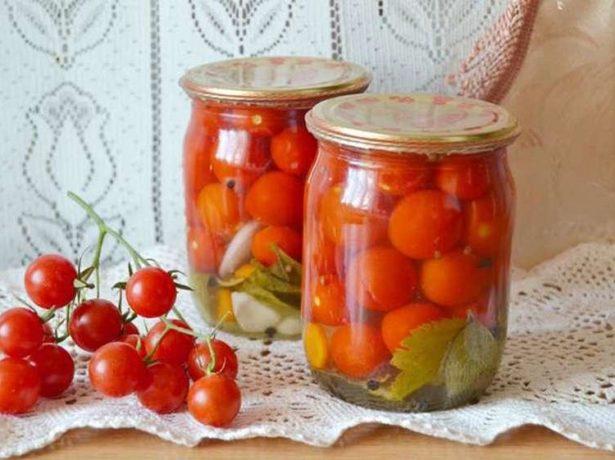 Маринованные томаты Клюква в сахаре