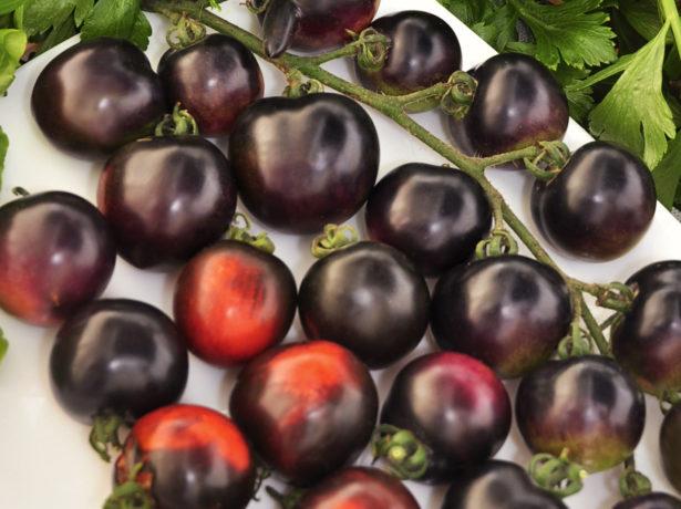 Помидоры Чёрная гроздь