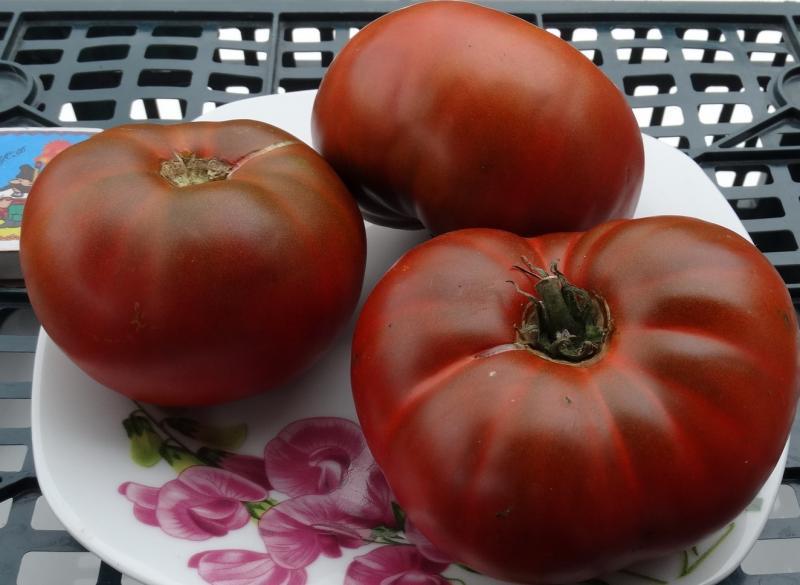 Шоколадный — сладкий томат без кислинки