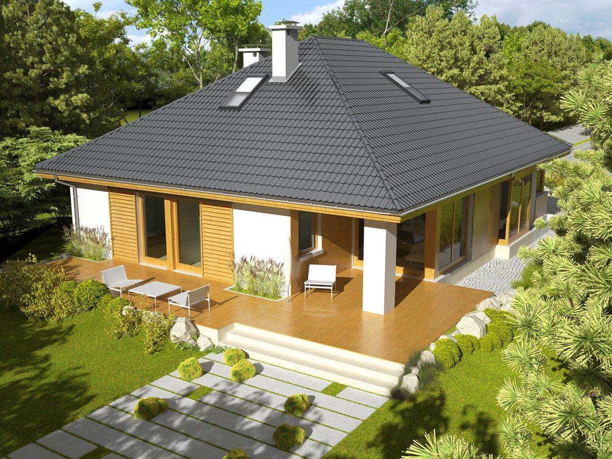 Четырёхскатные крыши: стильная геометрия