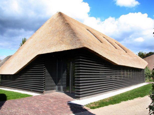 Несимметричная четырёхскатная крыша