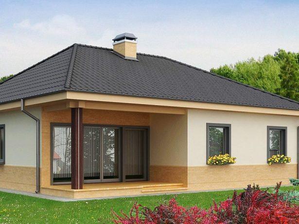 Дом с двойным окном