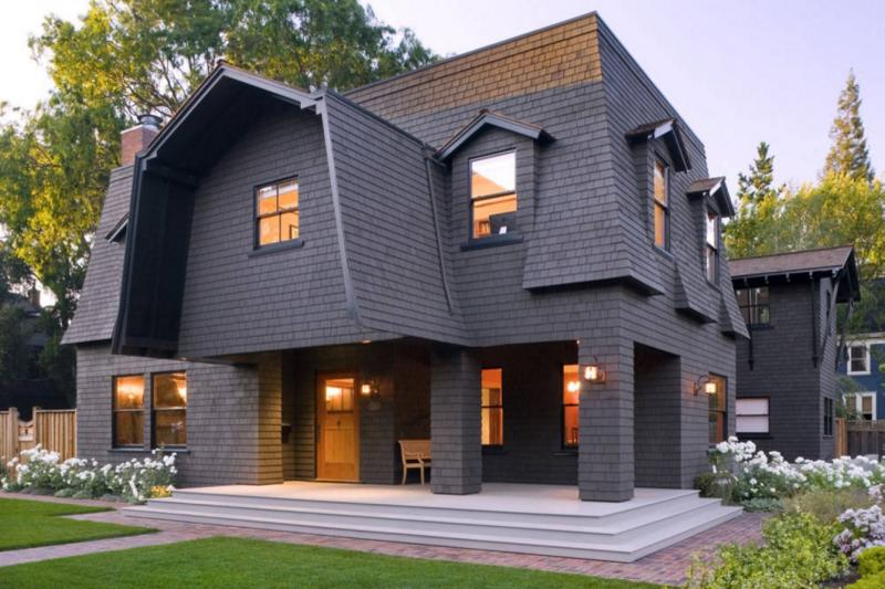 Разнообразие мансардных крыш: от односкатной до многощипцовой