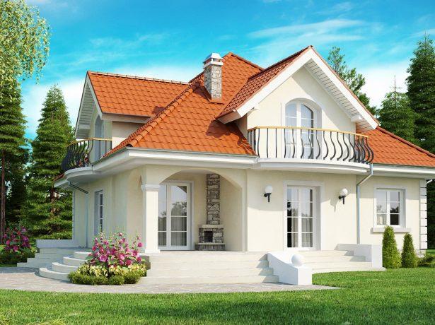 Сложная четырёхскатная крыша с мансардой