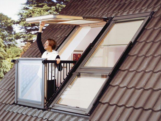 Мансардное окно-трансформер