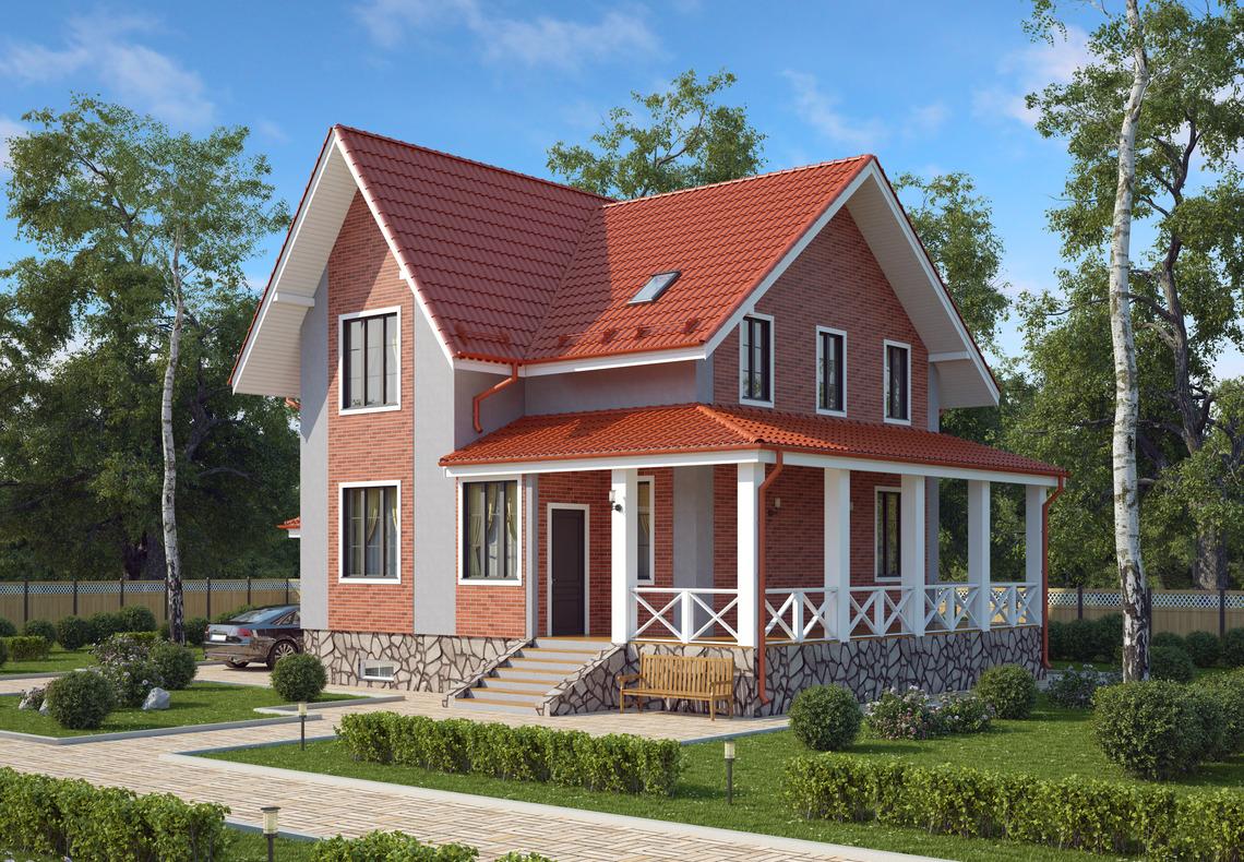 Многощипцовая крыша: сложность форм и совершенство технических решений