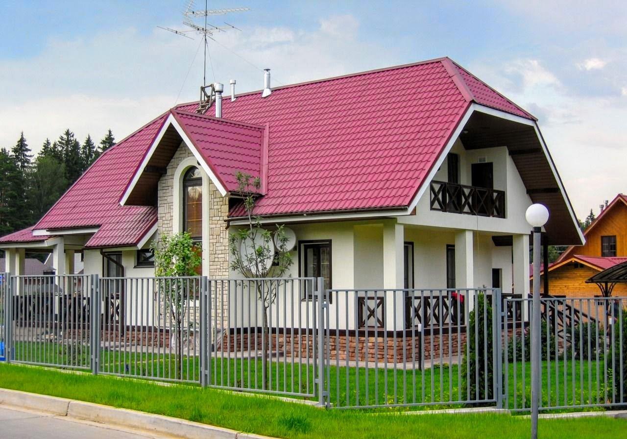 Вальмовые крыши и варианты их обустройства