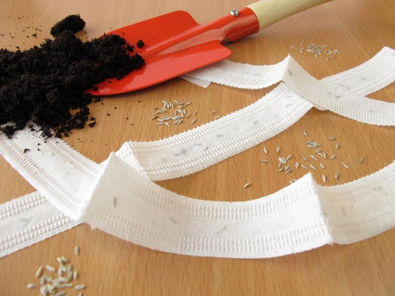 Посадка семян на ленте: простота и надёжность метода