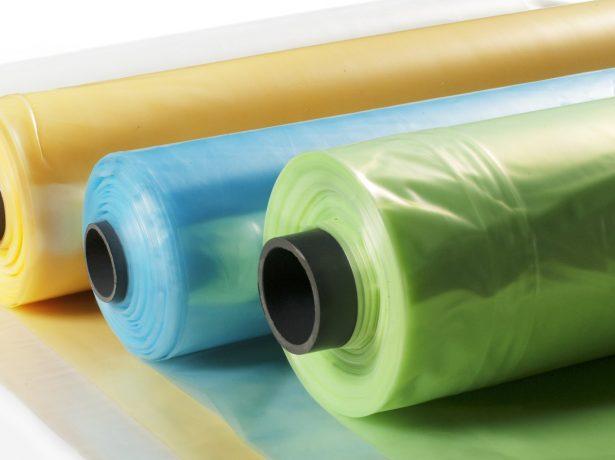 Цветная полиэтиленовая плёнка