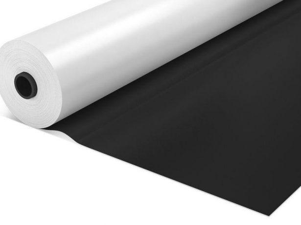 Чёрно-белая полиэтиленовая плёнка