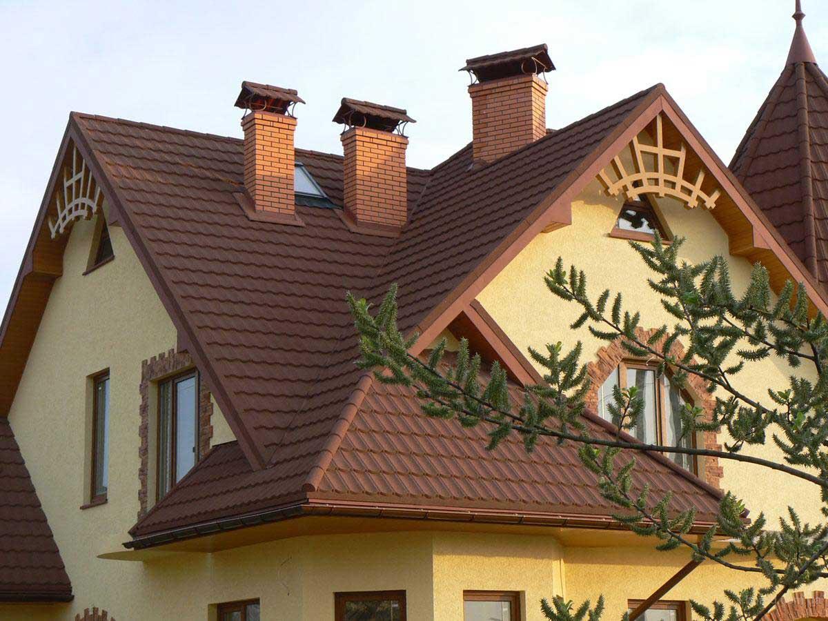 Крыша дома своими руками: этапы работ и материалы для строительства