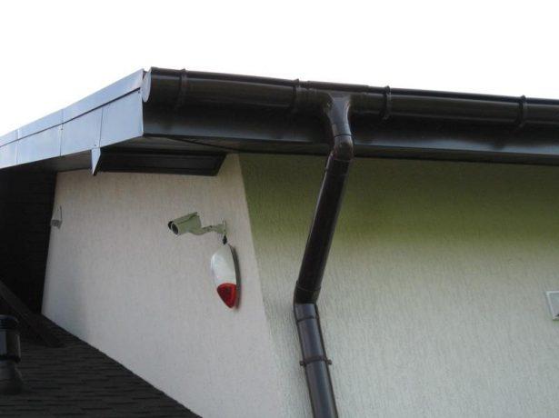 Водосток плоской крыши