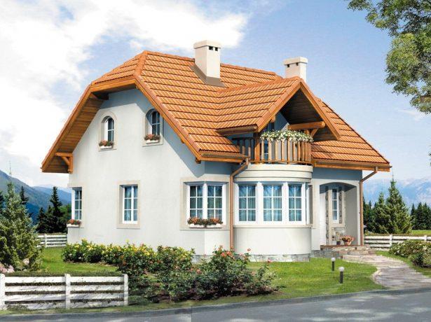 Вариант комбинированной крыши