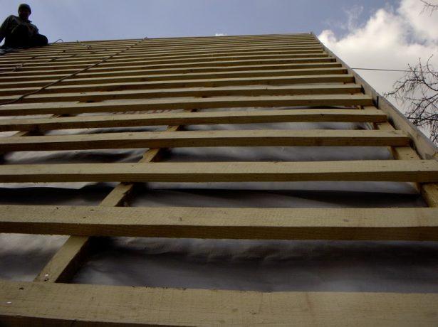 Вариант обрешётки крыши