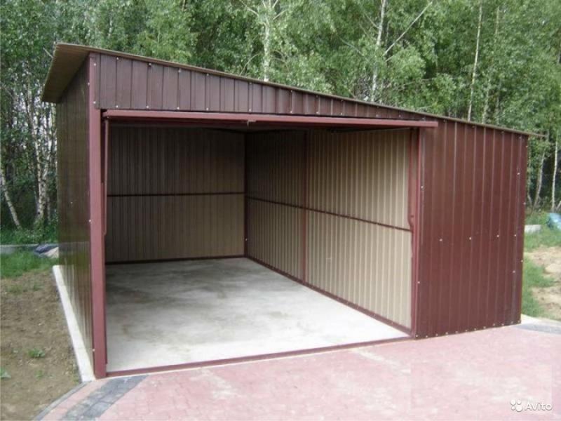 Односкатная крыша для гаража: если руки не совсем крюки
