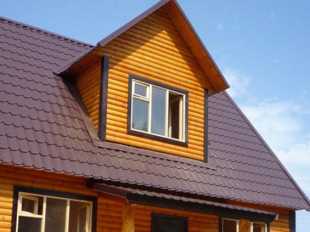 «Кукушка» на двускатной крыше