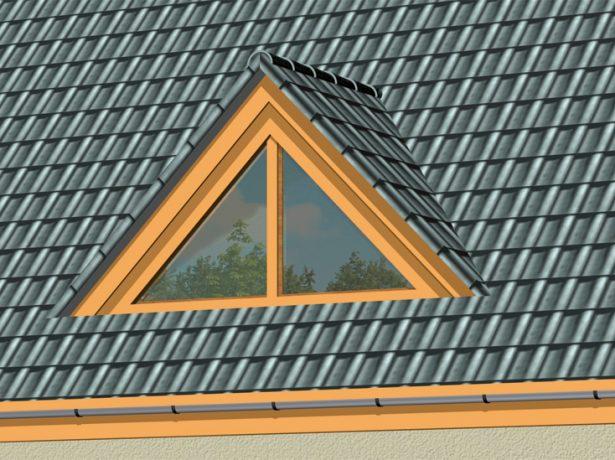 Слуховое окно треугольной формы