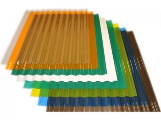 Прозрачный пластиковый шифер
