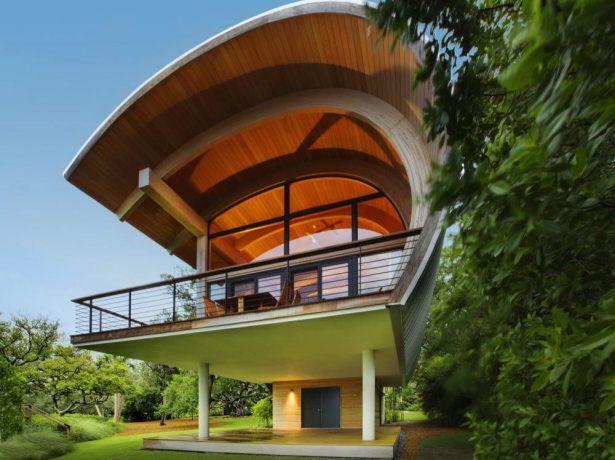 Дом со сводчатой крышей