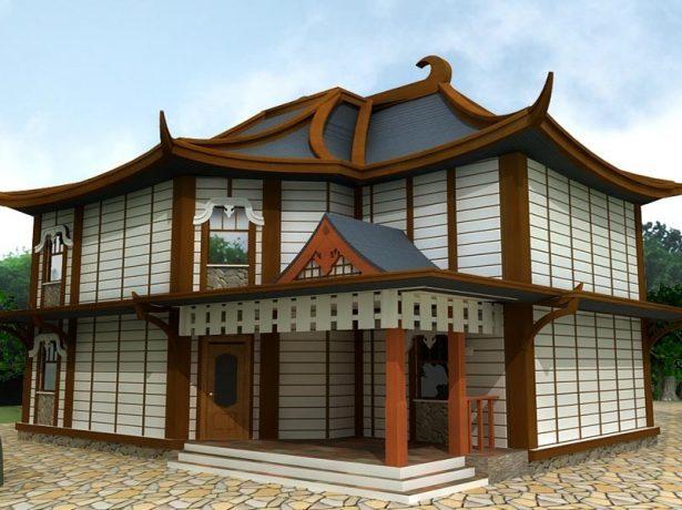 Необычная китайская крыша
