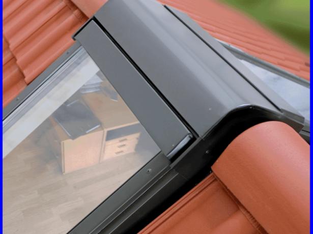 Один из вариантов установки мансардного окна