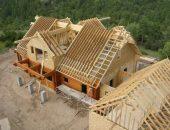 Процесс возведения многоскатной крыши частного дома